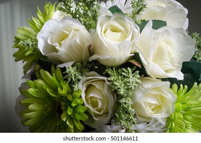 Artificial Flowers for decoration.