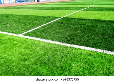 Artificial football field