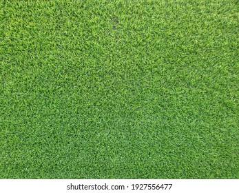 Kunstrasen-Hintergrund mit Kopienraum.grüner Hintergrund für Text und Bild.grüne Textur