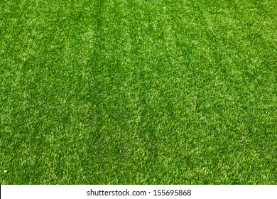 Artificial grass selective focus background