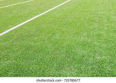Artificial grass turf background.