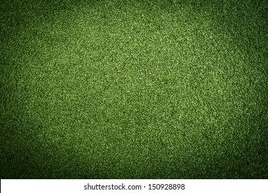 Artificial grass turf in green colors