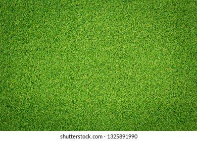Artificial Green Grass Background.