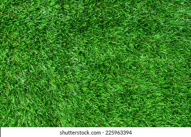 Artificial green grass texture for background