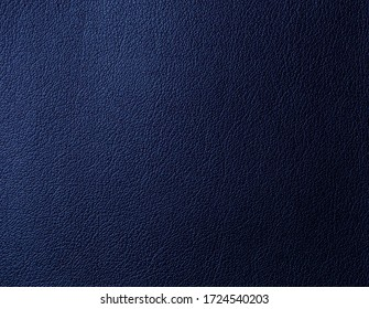 Artificial leather of blue color. Artificial leather texture