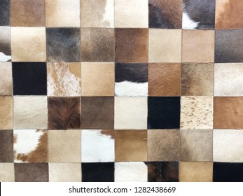 Artificial leather carpet pattern background