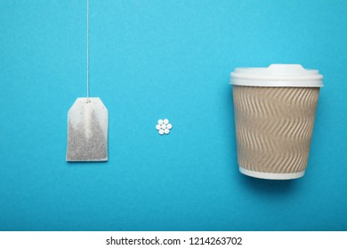 Artificial and natural sweetener tablets in beverage. Diabetes, healthy cuisine.