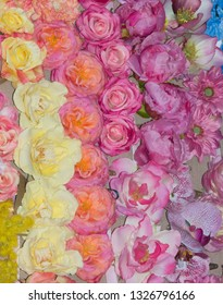 Artificial Silk Flowers - made from silk, but look real