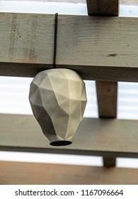 artificial wasp nest to keep them away 3d printed lookalike