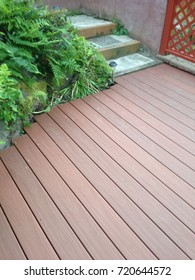 Artificial Wood Deck