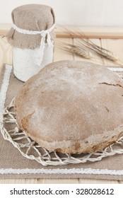artisan bread round