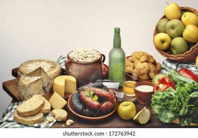 artisan products and foods from asturias,spain