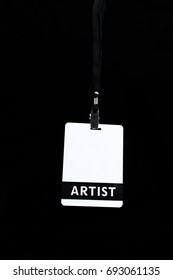 artist badge pass