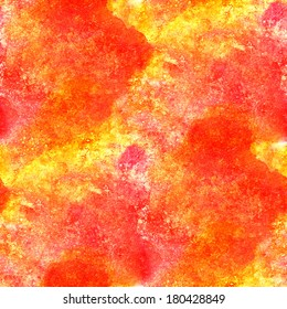 artist watercolor background yellow, red art and seamless paint background , texture abstract background pattern