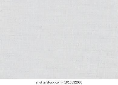 artistic background: white linen canvas, close