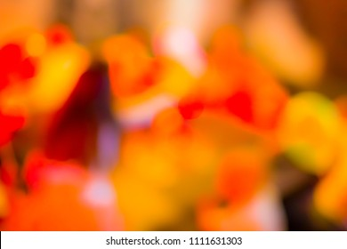 Artistic Blur Background Made Up of Red, Orange, White, Yellow and Rose  Colors.Horizontal Image
