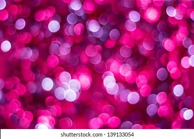 Artistic bokeh background. Soft defocused lights