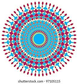 Artistic circular design
