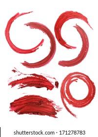 artistic lipstick makeup mark