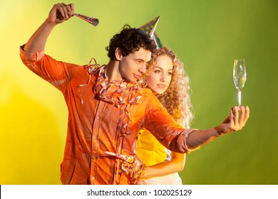 artistic picture of a nice couple