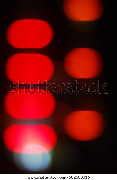 Artistic style - Abstract background of blurred lights.Defocused urban abstract texture background for your design