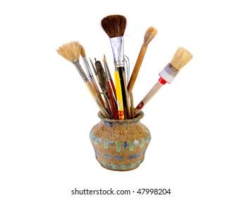 Artists Brushes, Ceramic tools & utensils