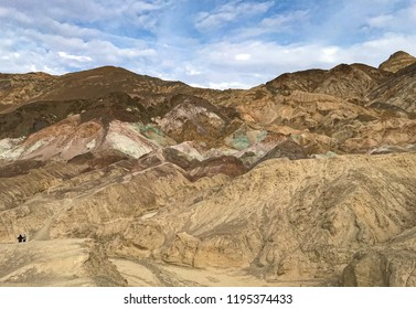 Artist's Drive, Death Valley National Park, California, USA