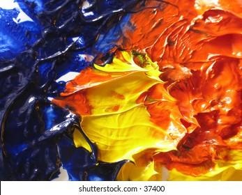 artist's oil paint