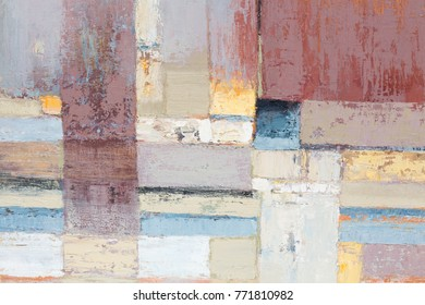 Artists oil paints multicolored closeup abstract background. Oil painting. High resolution photo.
