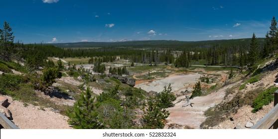 Artists Paint Pots, Yellowstone National Park, Wyoming, USA