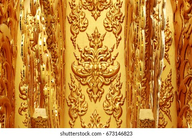 The Arts of Thailand's golden stripes.