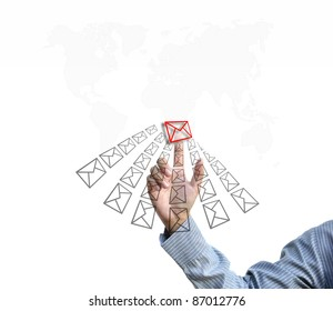 artwork for business idea from business person.