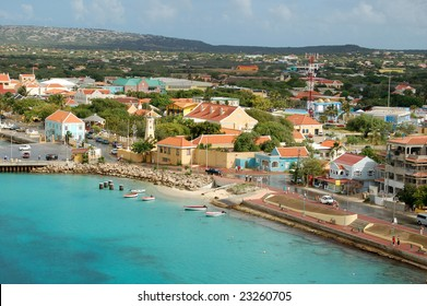 Aruba main harbor