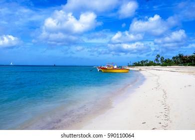 Aruba Oranjestad beach
