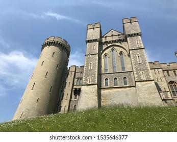 Arundel Castle in Arundel, England.
