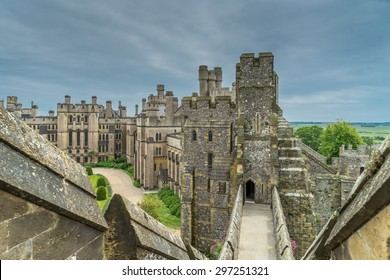 Arundel Castle inner passage