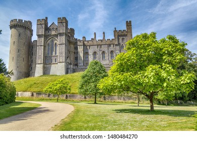 Arundel Castle is a renovated medieval castle located in Arundel, West Sussex, United Kingdom