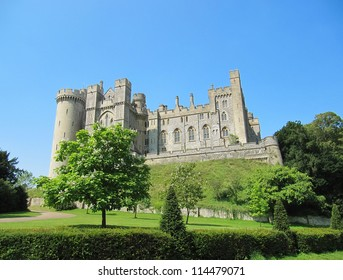 Arundel Castle is a restored medieval castle in West Sussex, and is a popular tourist spot.