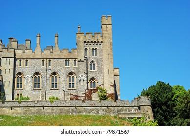 Arundel Castle in Arundel, West Sussex, England