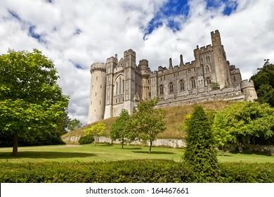 Arundel medieval castle in West Sussex, England, United Kingdom