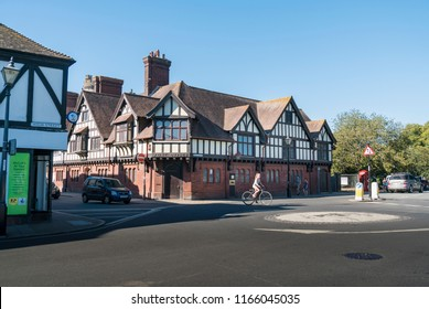 ARUNDEL, WEST SUSSEX, UK, 5TH AUGUST 2018 - Old Post Office in the town of Arundel, West Sussex, UK