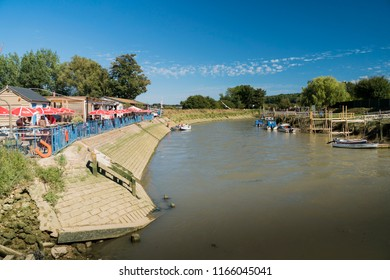 ARUNDEL, WEST SUSSEX, UK, 5TH AUGUST 2018 - View of the river Arun at Arundel, West Sussex, UK