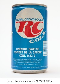 AS, CZECH REPUBLIC - APRIL 20, 2015: A vintage Royal Crown Cola.
