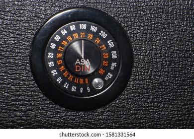 Asa measuring formula found in the back of 35mm film camera