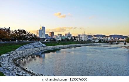 Asahi River, Okayama - JAPAN