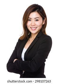 Asain young businesswoman