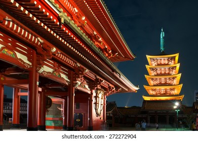 Asakusa Senso-ji Temple in Tokyo, Japan