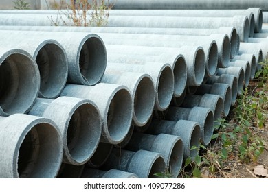 Asbestos pipes.This is sort tube and pipe represents a cross section sizes.pipe
