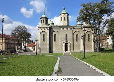 The Ascension Orthodox Church in Belgrade