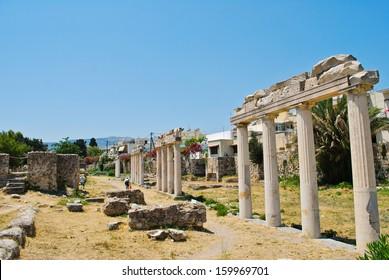 The Asclepieion - Ancient Kos, Greece